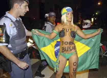 Brasil Forabushjaima 420