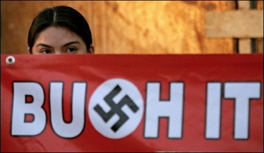 Bush Protestamerida