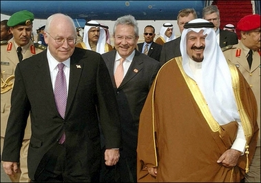 Cheney Saudi