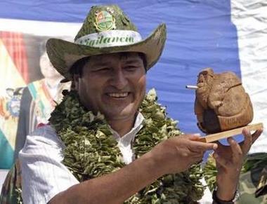 Evo Morales Collar