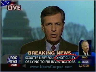 Fox Libby Verdict