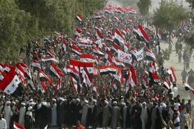 March Protest Irak