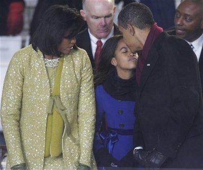 Obama Inaugfamily