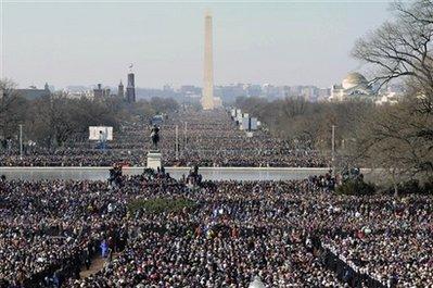 Obama Inauguration Mall1