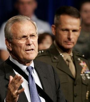Rumsfeld Pace