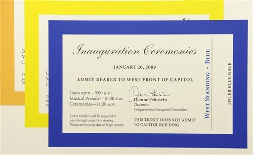 obama tickets