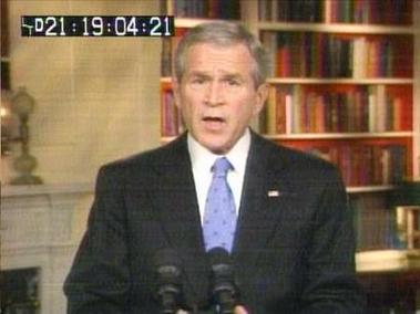 bush discurso enero 10
