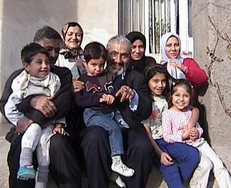 familia en Irán
